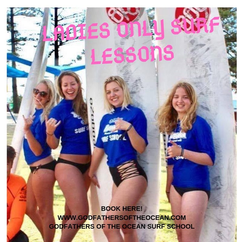 Ladies Only Surf Lessons